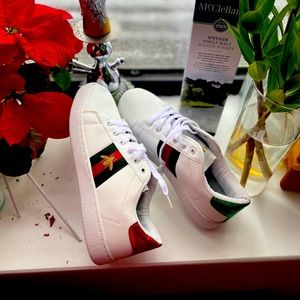 Gucci ace sneakers .